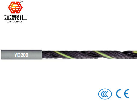 PUR材质拖链电缆/非屏蔽/动力线