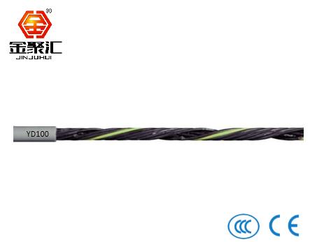 PVC材质拖链电缆/非屏蔽/动力线