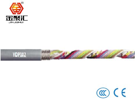 PVC材质拖链电缆/屏蔽/数据信号电缆