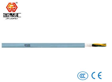 PVC材质拖链电缆/非屏蔽/数据信号电缆